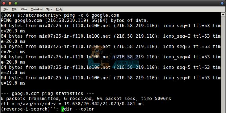 Verwendung von STRG R unter Linux