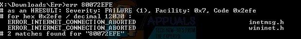 Fix: Windows Update Fehler 80072EFE