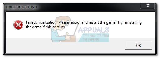 Fix: err_gfx_d3d_init in GTA V.