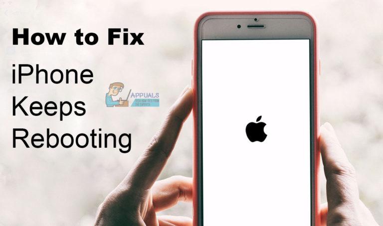 So beheben Sie das iPhone wird immer wieder neu gestartet