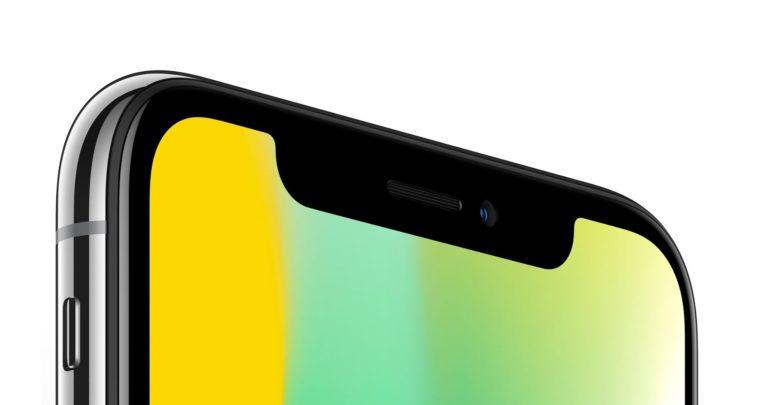 Knisternde Geräusche von der Hörmuschel des iPhone X.