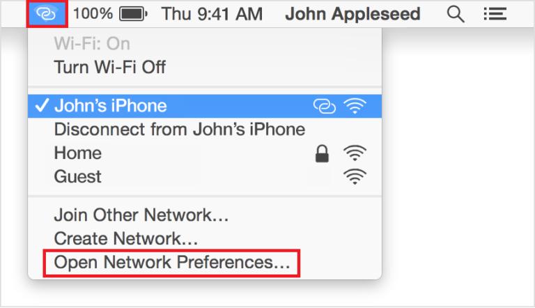 So legen Sie die WLAN-Priorität unter iOS und MacOS fest