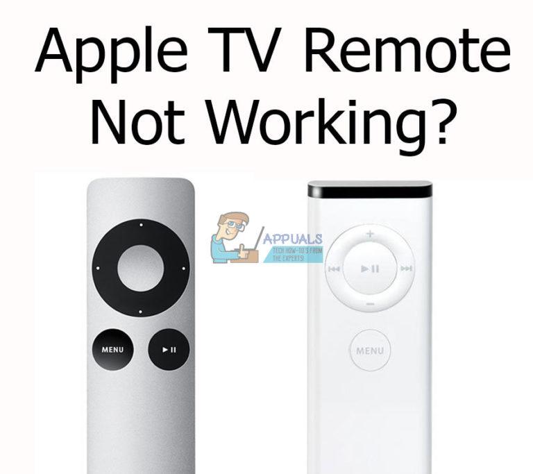 Fix: Apple TV Remote funktioniert nicht