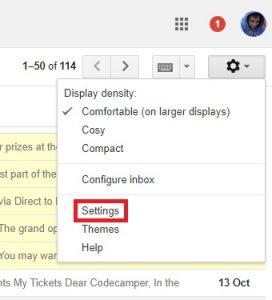 So leiten Sie mehrere E-Mails in Google Mail weiter