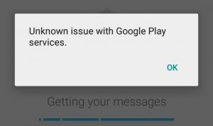 Fix: Unbekanntes Problem mit Google Play Services