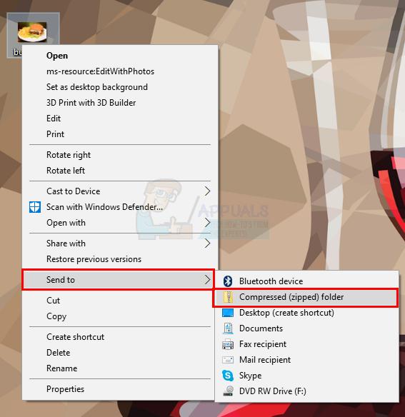So komprimieren und entpacken Sie Dateien unter Windows 10