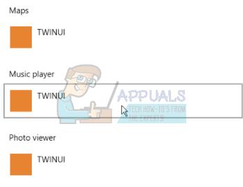 Fix: Apps werden auf TWINUI zurückgesetzt