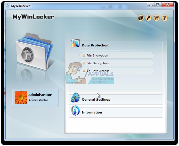 So deinstallieren Sie MyWinLocker Suite unter Windows