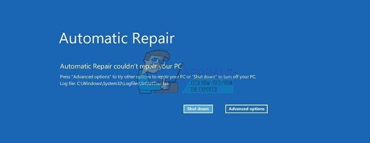 So beheben Sie die automatische Reparatur konnte Ihren PC unter Windows 10 nicht reparieren