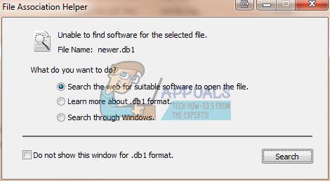 So deinstallieren Sie den File Association Helper