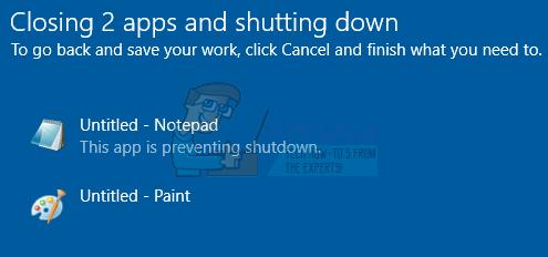 Fix: Windows 10 wird für immer heruntergefahren
