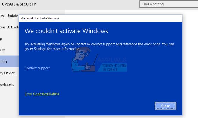 So beheben Sie den Fehler 0xc004f014 während der Aktivierung unter Windows 10