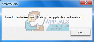 """So beheben Sie den Fehler """"Smartaudio konnte nicht initialisiert werden"""" unter Windows"""