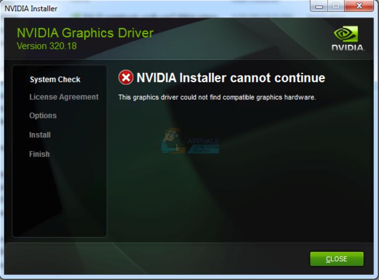 Fix: NVIDIA Geforce Experience Installer fehlgeschlagen