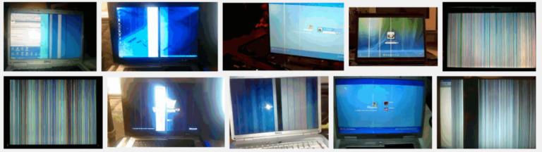 Fix: Vertikale Linien auf dem Laptop-Bildschirm