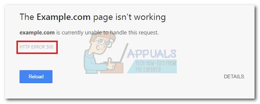 Was ist ein 500 interner Serverfehler und wie kann er behoben werden?