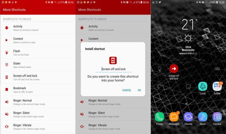 So erstellen Sie benutzerdefinierte App-Verknüpfungen auf Ihrem Android-Gerät