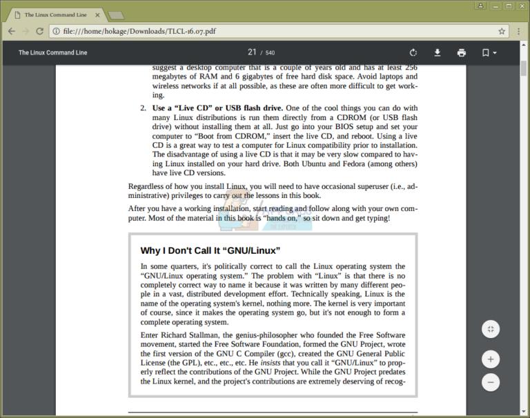 So drucken Sie doppelseitige PDF-Dateien in Ubuntu