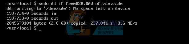 Verwenden des DD-Befehls zum Kopieren von VHD-Dateien auf eine physische Festplatte
