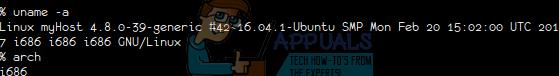 Verwendung des Linux-Versionsbefehls