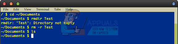 So entfernen Sie das Verzeichnis und seinen Inhalt unter Linux