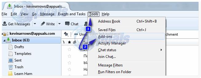 Gewusst wie: Konfigurieren Sie das Exchange-Konto in Thunderbird