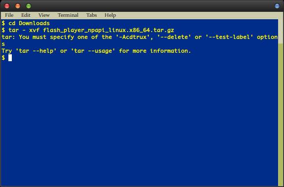 So entpacken Sie eine Datei unter Linux