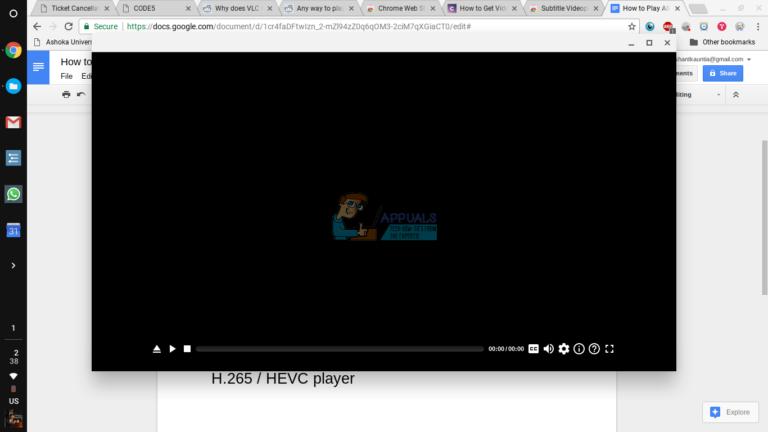 So spielen Sie Videos mit VLC auf Chromebook ab