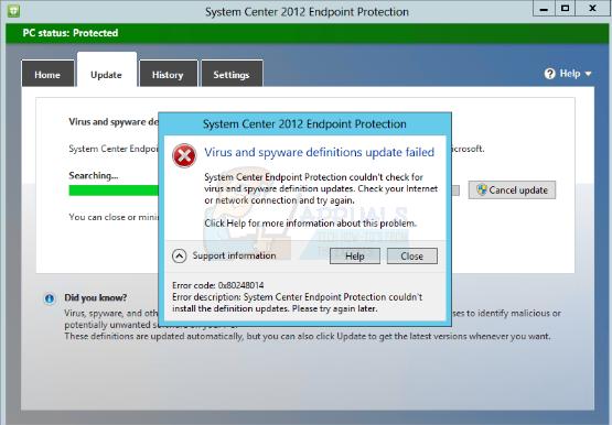 So beheben Sie den Fehler 0x80248014 beim Aktualisieren von Microsoft Security Essentials