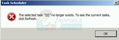 """So beheben Sie """"die ausgewählte Aufgabe existiert nicht mehr"""" unter Windows 10"""