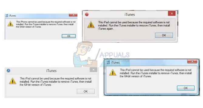 """So beheben Sie den iTunes-Fehler """"Kann nicht verwendet werden, da die erforderliche Software nicht installiert ist"""""""