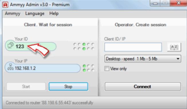 Wie lösche ich AA-V3 (Ammyy Admin) von Ihrem Computer?