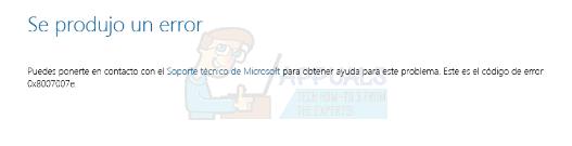 So beheben Sie den Fehler 0x8007007e beim Upgrade auf Windows 10