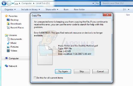 So beheben Sie den Fehler Fehler 0x80070037 beim Kopieren von Dateien
