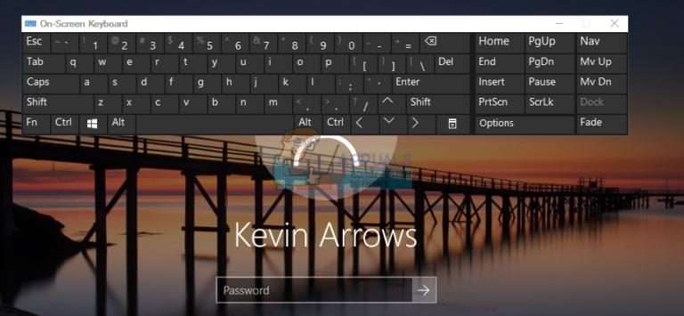 Fix: Deaktivieren Sie die Windows 10-Bildschirmtastatur