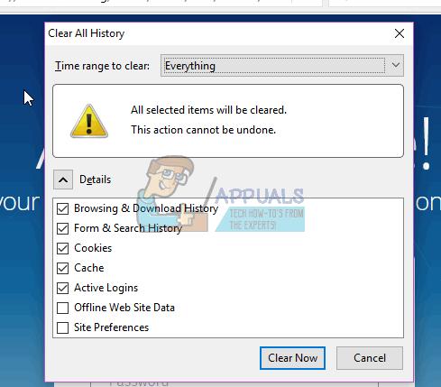 Fix: Firefox Blank oder White Screen