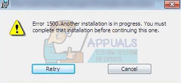 Fix: Unter Windows 7, 8 und 10 wird eine weitere Installation durchgeführt