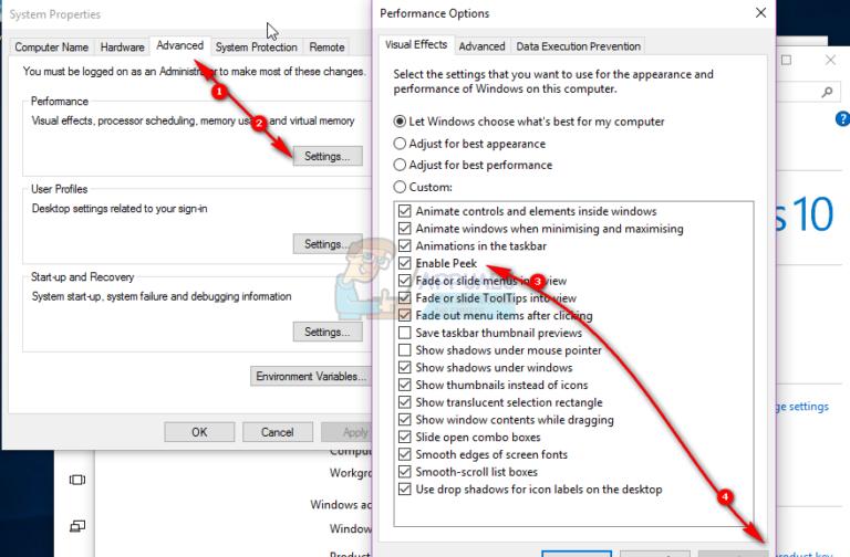 So deaktivieren Sie die Miniaturansichten der Live-Taskleiste in Windows 10