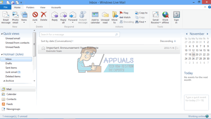 Fix: Windows Live Mail Doppelte Ordner und E-Mails