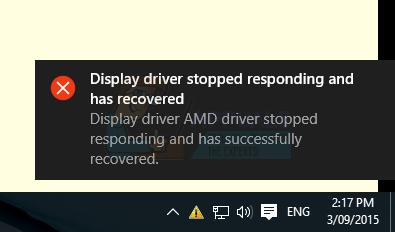 Fix: AMD Display Driver Absturz Windows 10