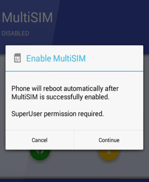 So aktivieren Sie Dual Sim auf Single Sim Moto Z.
