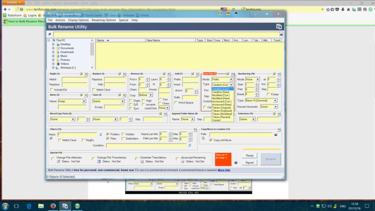 Gewusst wie: Massenumbenennen von Dateien mit dem Dienstprogramm zum Umbenennen von Massen