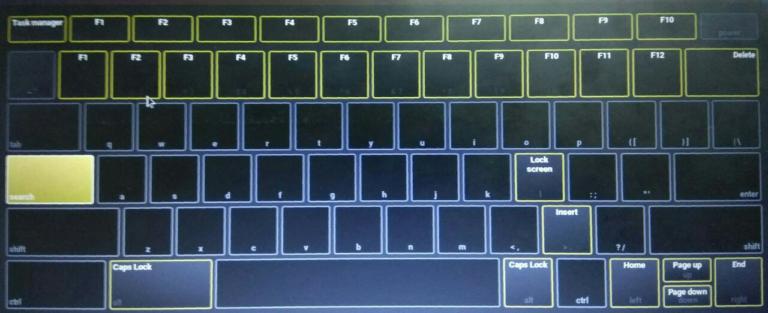 So verwenden Sie Chromebook-Funktionstasten