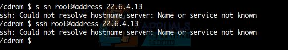 Fix: SSH-Fehler 'Hostnamenserver konnte nicht aufgelöst werden'
