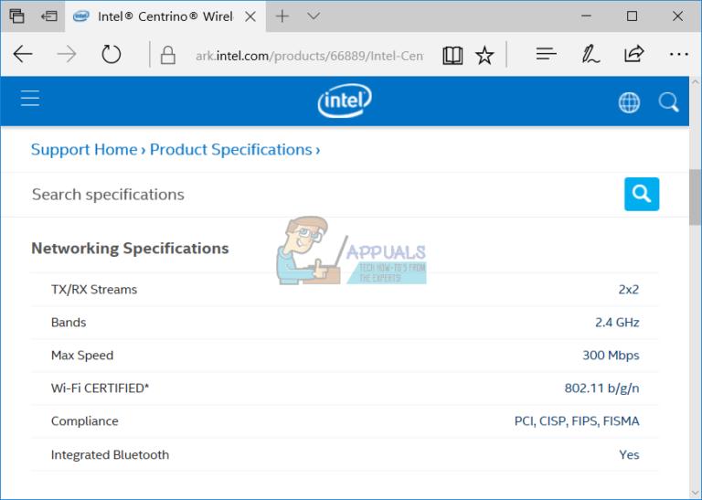 Fix: Intel Centrino Wireless-n 2230 5 GHz Problem