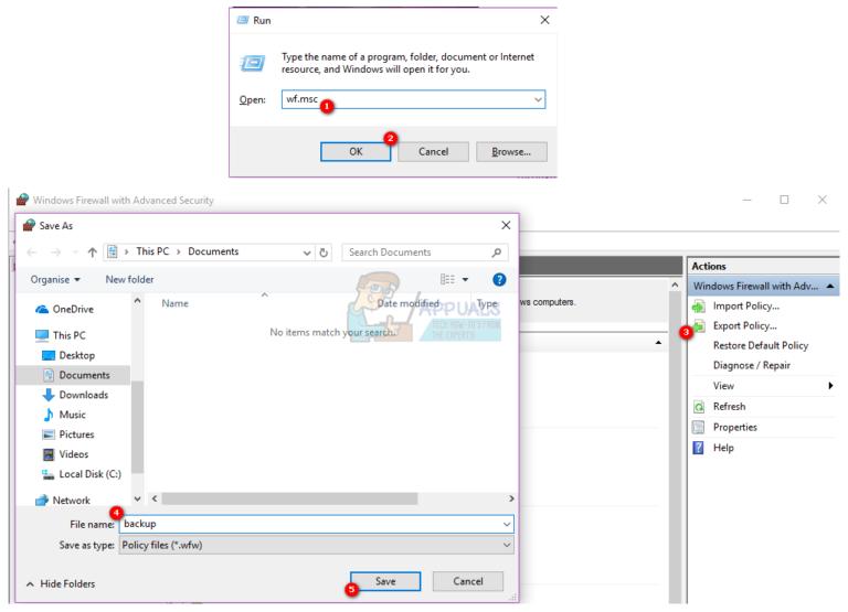 So blockieren Sie mehrere Dateien in einer Windows-Firewall