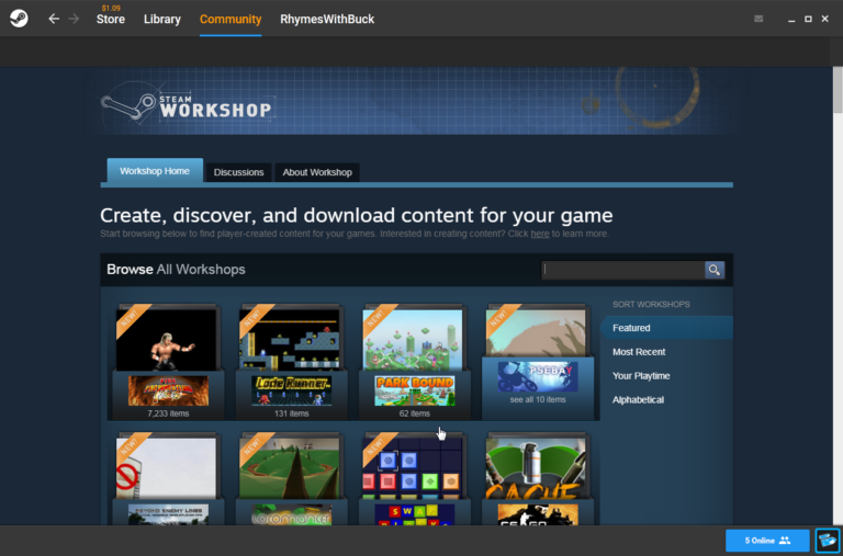 Was ist: Steam Workshop und wie man es benutzt