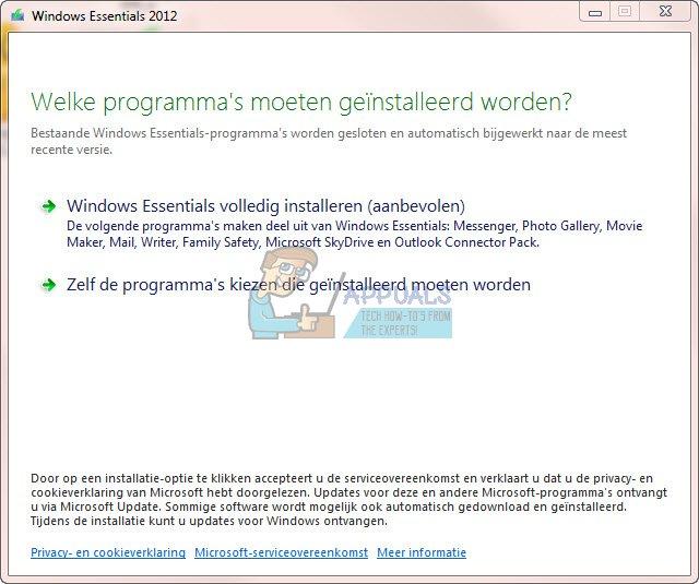 Vollständige Deinstallation von Windows Essentials 2012