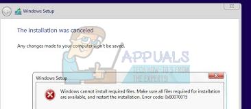So beheben Sie den Fehler 0x80070015 beim Upgrade auf Windows 10