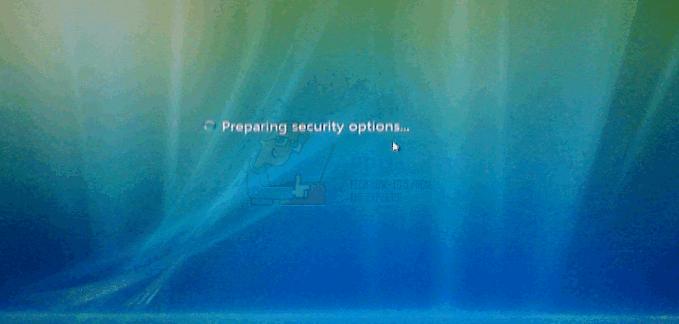 """UPDATE: Windows 7 bleibt bei """"Vorbereiten von Sicherheitsoptionen"""" hängen"""